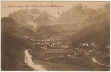 UN SALUTO DA S.ANTONIO AI PIEDI DEL PASUBIO - VALLI DEL PASUBIO (VICENZA) 1920