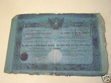 N°3 OBLIGATION 500  CHEMINS  DE FER  ANNEE 1855 EISENBAHN Societé Österreicherin