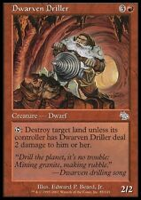 TRIVELLATORE NANESCO - DWARVEN DRILLER Magic JUD Mint