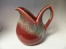 Holland Pottery Pitcher..Sculpted Lines