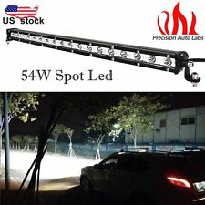 "Super Bright 21"" 54W LED Work Light Bar Spot Beam Driving Lamp off road 4wd"