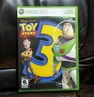 Toy Story 3 (Microsoft Xbox 360, 2010) CIB