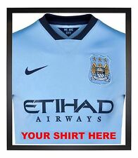 FOOTBALL SHIRT, T-SHIRT FRAME, INCLUDES SHIRT INSERT TO STOP RIPPLING,