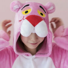Unisex Animal Kigurumi Pajamas Cosplay Sleepwear Costumes Dress Pink Panther