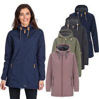 Trespass Kristen Women's Longer Length Hooded Waterproof Jacket