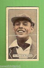 1934 - 1935 ALLEN'S CRICKET CARDS #23  J. H. FINGLETON