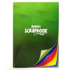 A4 Premier Activity Scrapbook, 48 Pages - Mixed Colour Pages, 4 Colours