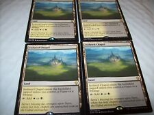 (4)  ISOLATED CHAPEL LAND RARE PLAYSET FREE SHIPPING WITH TRACKING