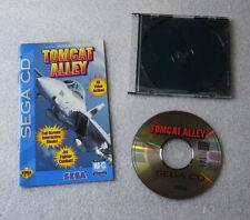 Tomcat Alley •Sega Genesis CD CDX System/Console • Top Gun Fighter Planes