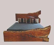 Unique, Bespoke & Authentic Raw Finish Oak Wood Bedroom Furniture