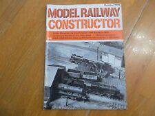 MODEL RAILWAY CONSTRUCTOR OCT 1970 BLACKBURN MRS BR WARSHIP  DOUBLE DECK BUS