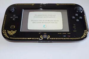Original Nintendo Wii U Gamepad Zelda Edition Mit Konsole+ Games