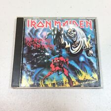 Iron Maiden - Number of the Beast CD 1982 CAPITOL EARLY PRESS CDP 7463642