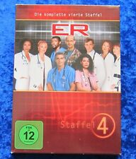 Er Die komplette vierte Staffel, Emergency Room, DVD Box Season 4