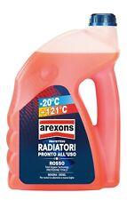 Liquido Radiatori Rosso -20° +121° Arexons Protettivo Radiatori + Imbuto 4,5 LT