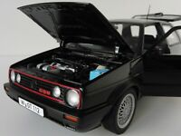 VW Golf II GTI 1990 3-door 1/18 Norev 188444 Volkswagen MkII Mark 2 GTI BLACK