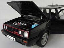 VW Golf II GTI 1990 3-door 1/18 Norev 188444 Volkswagen MkII Mark 2 GTI BLACK