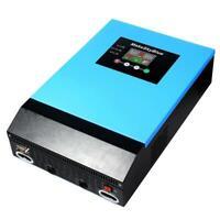 MakeSkyBlue 24V 3KVA 2400W 120VAC Hybrid Pure Sine Wave MPPT Inverter + Charger