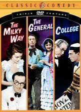 Classic Comedy Triple Feature Vol. 1 - The Milky Way, The General, College