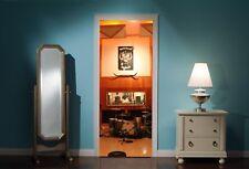 Puerta Mural Motorhead estudio de grabación Vista Pegatinas De Pared Calcomanía Wallpaper 186