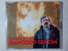 FRANCESCO GUCCINI Quattro stracci cd singolo PR0M0 VINCE TEMPERA