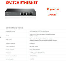 SWITCH GIGABIT 16 puertos  . 10/100/1000