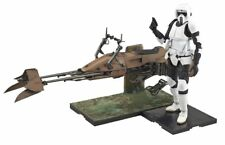 BANDAI 1/12 SCOUT TROOPER & SPEEDER BIKE MODEL KIT STAR WARS from Japan