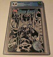 Moon Knight Marvel 2006 Series Rare #20 B&W Variant Lot CGC Graded 9.4 MCU HTF