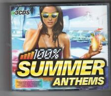 (HO888) 100% Summer Anthems, 60 tracks various artists - 2010 triple CD