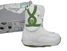 NEW $330 Burton Supreme Snowboard Boots!  US 4 UK 2.5 Euro 34 Mondo 21  *WHITE*