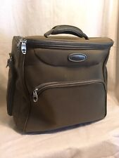 Rolling Carry-on  Luggage Magellan 2 Wheels 3 Exterior Pockets 2 Interior Handle