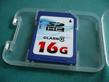 16GB SD HC Memory Card FOR Canon EOS Rebel T1i T2i Xs  SONY DSC-H55 DSC-TX5 W310
