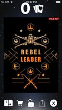 Topps Star Wars Digital Card Trader X-Wing Galactic Matrix Insert