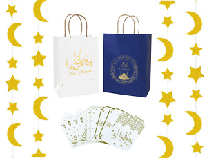 Eid Gift Bags Boxes Tags Labels Stickers Decorations Ramadan Mubarak