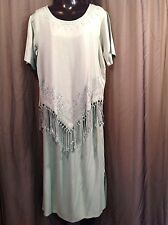 MARISOL 2pc DRESS Top Skirt HIPPIE  Women's Size MEDIUM 6 PETITE