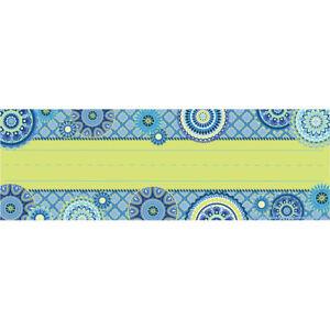 EU 833186 Blue Harmony Nameplates Classroom Labels Teaching Supplies