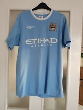Manchester City Football Shirt Size Large Number 5 On The Back