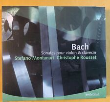 Bach: Sonatas for Violin & Harpsichord - Montanari (2CD 2017 Ambroisie Naive)
