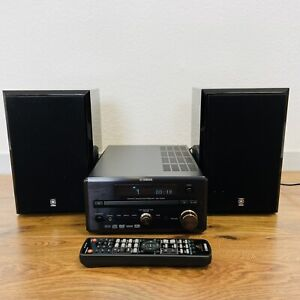 Yamaha Pianocraft RDX-E700 DVD-Kompaktanlage mit Boxen NX-E Inkl. Fernbedienung