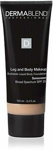 Leg and Body Makeup by DERMABLEND, 3.4 oz 10N Fair Ivory