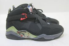 NUEVO Air Jordan 8.0 467807 010 NEGRO/Universitaria red-flint Gris 2011 Talla