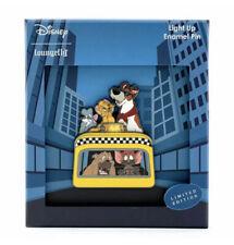 Disney Loungefly Oliver & Company LED Light Up Enamel Pin Limited Edition 500