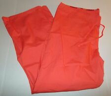 Dickies Mens Womens Unisex Solid Apricot Scrub Drawstring Pants Size XL