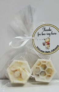 Bee Favors Goats Milk Honey Soap Guest Baby Shower Bridal Party Gifts Scented