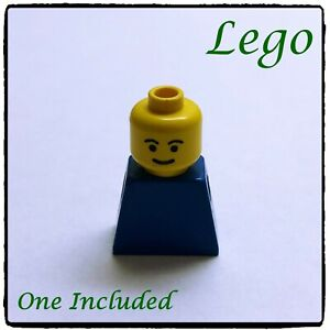 LEGO Minifigure Head, Smile Smiling (2), Yellow ~1 included~