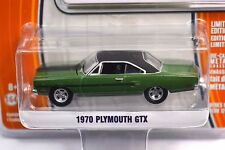 Plymouth GTX 1970 Ivy Green Greenlight Muscle series 12 13120 1:64 NEUF