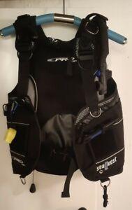 SeaQuest PRO QD+ Tauchjacket, Gr. S, inklusive integrierter Bleitaschen + Messer