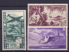 MARTINIQUE 256-258 MH Airplane Fluzeuge vliegtuigen Air mail 0849