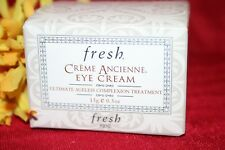 FRESH CREME ANCIENNE EYE CREAM ULTIMATE AGELESS COMPLEXION TREATMENT .5 OZ BOXED