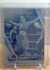 2020 Topps WWE Women's Division #81 SHAYNA BASZLER RHEA RIPLEY Print Plate 1/1